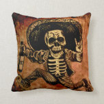 Posada day of the dead pillow