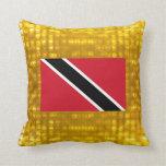 Official Trinidadian Flag Throw Pillow