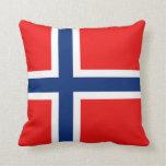 Norway Flag x Flag Pillow
