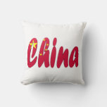 Chinese Flag Pillow