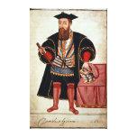 Vasco da Gama , illustration Canvas Print
