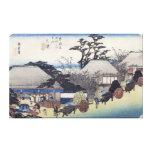 The Teahouse at the Spring, Otsu Canvas Print