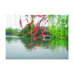 West Lake in Hangzhou, China Stretched Canvas Prin