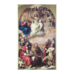 The Glory of the Saints, 1645-47 Canvas Print
