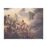 Badajoz, 6th April 1812, from 'The Victories of th Canvas Print