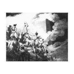 The Storming of Badajoz, 6th April 1812 Canvas Print