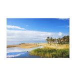 Costa del Sol Nature Scenery in Spain Canvas Print