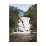Almeida Júnior - Votorantim Waterfall Canvas Print