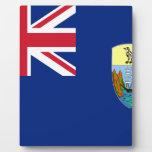 Low Cost! Saint Helena, Ascension Tristan Flag Plaque