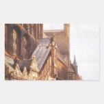 Cityhall in Lbeck by Cornelis Springer Rectangular Sticker