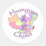 Huangyan China Classic Round Sticker