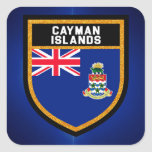 Cayman Islands Flag Square Sticker