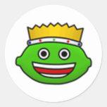 KLN Lime Logo Sticker