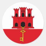 Gibraltar Flag Sticker