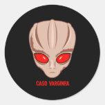 Caso Varginha Classic Round Sticker
