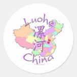 Luohe China Classic Round Sticker
