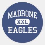Madrone - Eagles - Continuation - San Rafael Classic Round Sticker