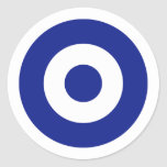 Hellenic Air Force Roundel, Greece Classic Round Sticker