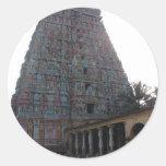 Adi Kumbeswarar Temple Classic Round Sticker