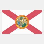 Florida Flag Rectangular Sticker