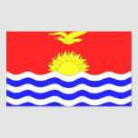 Kiribati Flag Rectangular Sticker