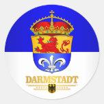 Darmstadt Classic Round Sticker