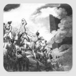 The Storming of Badajoz, 6th April 1812 Square Sticker
