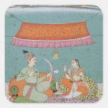 The Lotus Arrow, Bilaspur, c.1750 Square Sticker