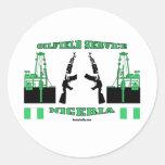 Oil Field Service Nigeria, Oil Patch Sticker