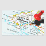 Palma de Mallorca, Spain Rectangular Sticker