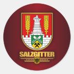 Salzgitter Classic Round Sticker