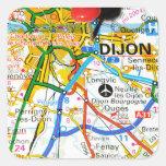 Dijon, France Square Sticker