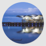 Geelong Waterfront Carousel Classic Round Sticker