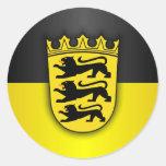 Baden-Wurttemberg Classic Round Sticker