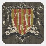 IV - Jo So Catalá Square Sticker