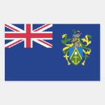 Pitcairn Islands Flag Rectangular Sticker