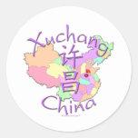 Xuchang China Classic Round Sticker