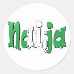 Naija (Nigerian Flag) Sticker