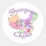 Shaoguan China Classic Round Sticker