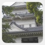 Odawara Castle - Japan Square Sticker