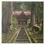 Japan, Fukui, Eiheiji Temple Tile