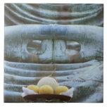 Great Buddha Detail, Kotokuji Temple, Kamakura, Ceramic Tile