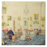 The Winter Room in the Artist's House at Patna, In Tile