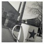 China, Beijing, Chaoyang District. Dashanzi 798 2 Ceramic Tile