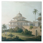 The Chalees Satoon, in the Fort of Allahabad on th Tile