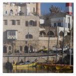 Israel, Tel Aviv, Jaffa, Jaffa Old Port Ceramic Tile