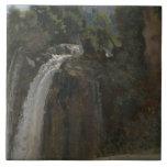 Jean-Baptiste-Camille Corot - Waterfall at Terni Tile