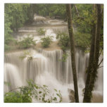 Thailand, Huai Mae Khamin Waterfall Tile