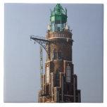 Germany, State of Bremen, Bremerhaven. Harbor Tile