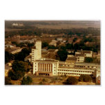 Aerial View of Main Building (Sunset) Poster